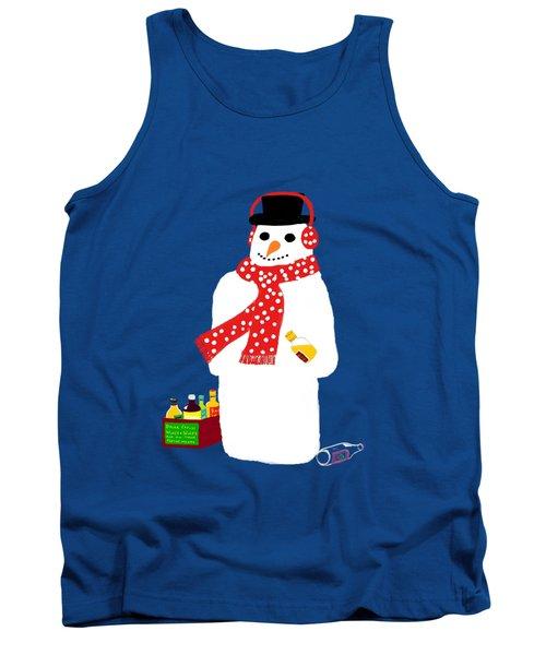 Snowman Tank Top by Barbara Moignard