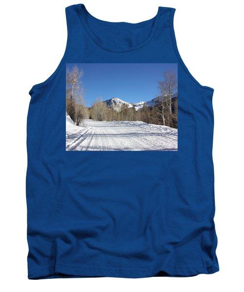 Snowy Aspen Tank Top