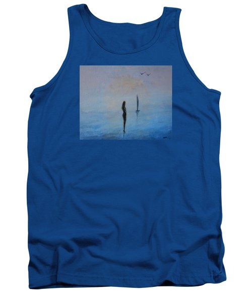 So Close Tank Top by Jane See