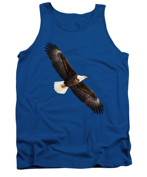 Tank Top featuring the photograph Soaring Eagle by Greg Norrell