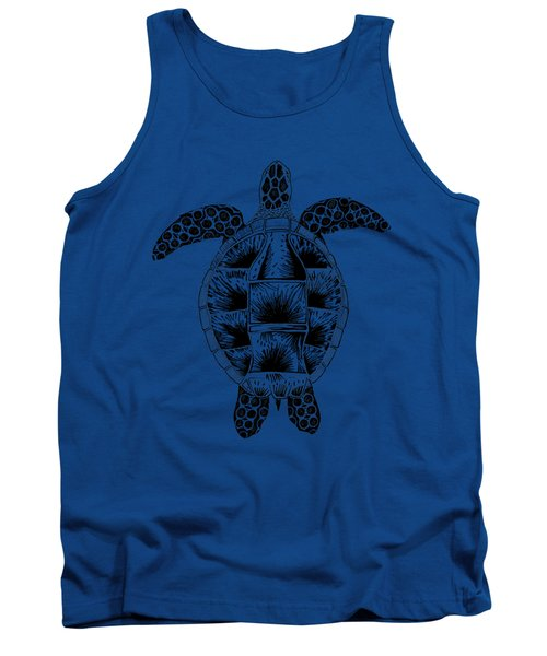 Soda Turtle Sea Turtle Great Tshirt Image Tank Top