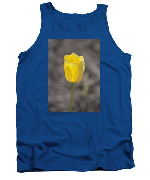 Soft And Yellow Tank Top by Morris  McClung