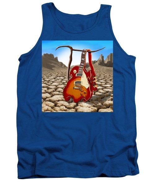 Soft Guitar II Tank Top