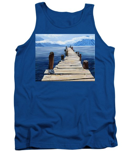 Crooked Dock  Tank Top