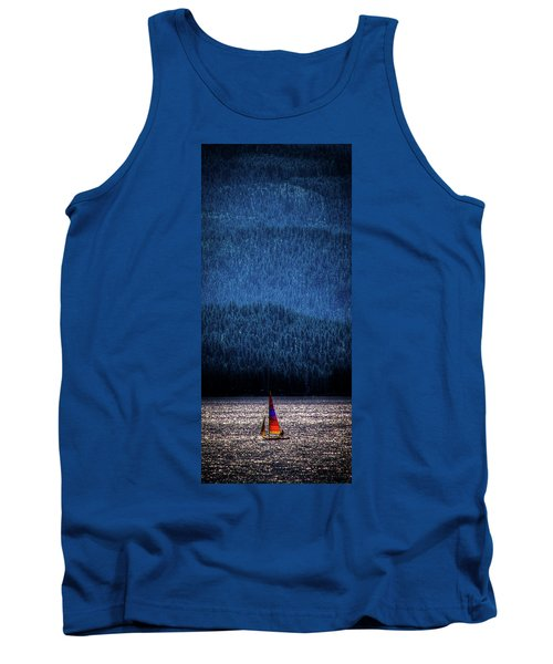 Tank Top featuring the photograph Solitude On Priest Lake by David Patterson
