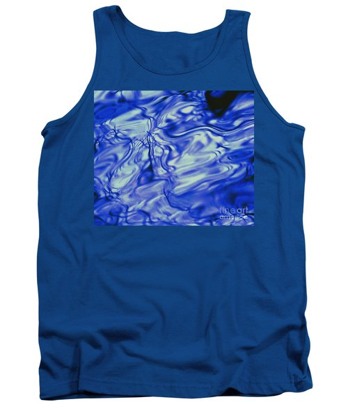 Solvent Blue Tank Top