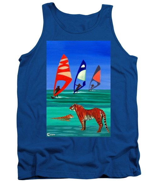 Tigers Sons Of The Sun Tank Top