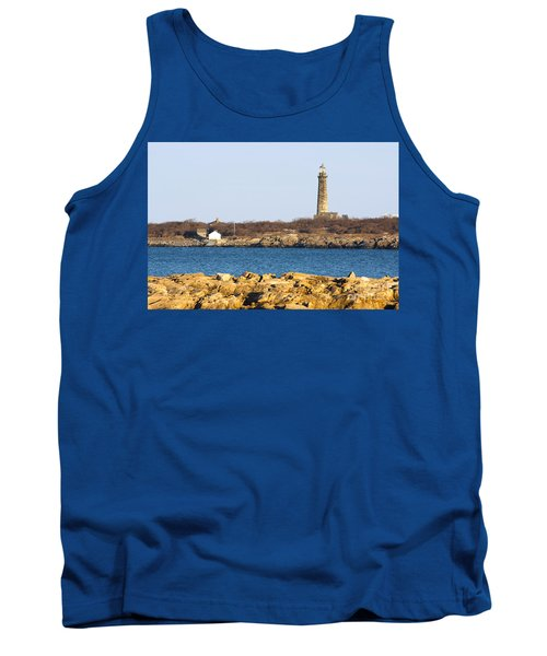 South Tower-thatcher Island Tank Top