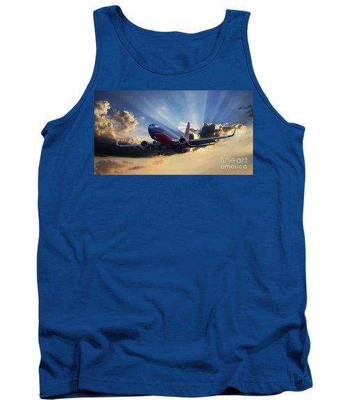 Southwest Dramatic Rays Of Light Tank Top