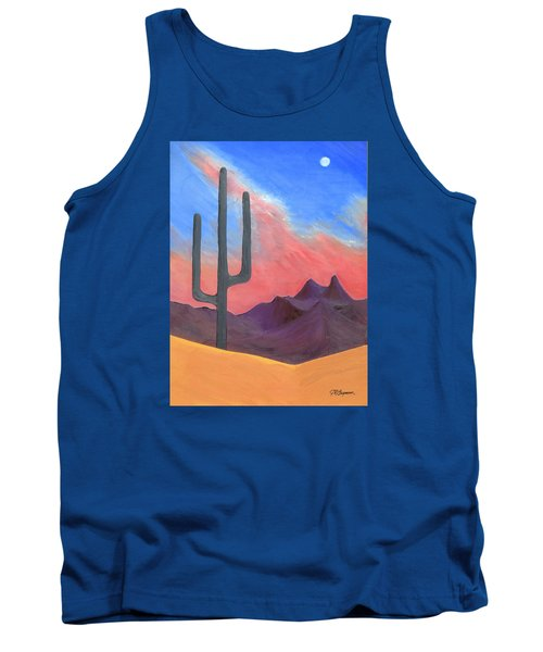 Tank Top featuring the painting Southwest Scene by J R Seymour