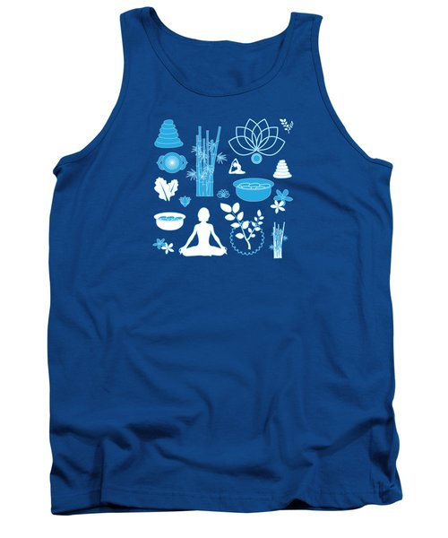 Spa Background Tank Top