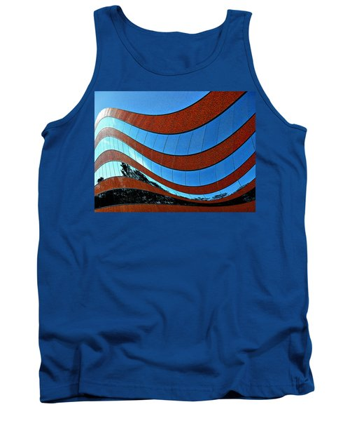 Space Geometry #8 Tank Top