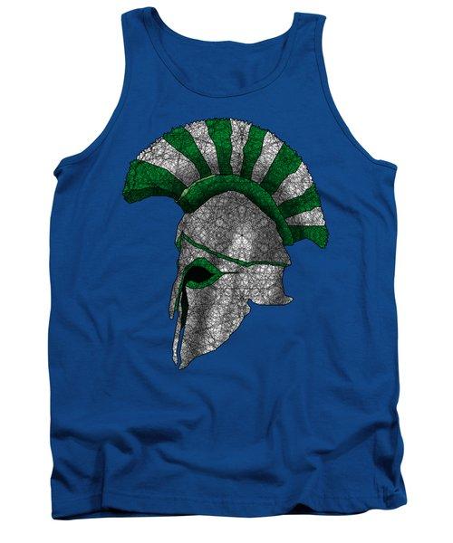 Spartan Helmet Tank Top by Dusty Conley