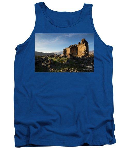 Splendid Ruins Of St. Grigor Church In Karashamb, Armenia Tank Top by Gurgen Bakhshetsyan