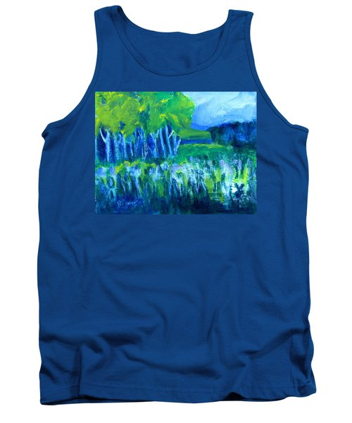 Tank Top featuring the painting Spring Coming by Betty Pieper