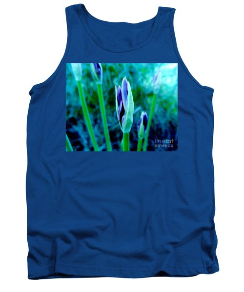 Tank Top featuring the photograph Spring Erupting Early by Marsha Heiken