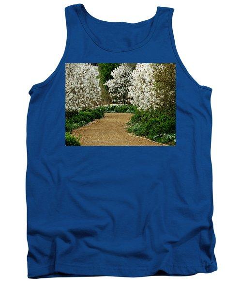 Spring Flowering Trees Wall Art Tank Top