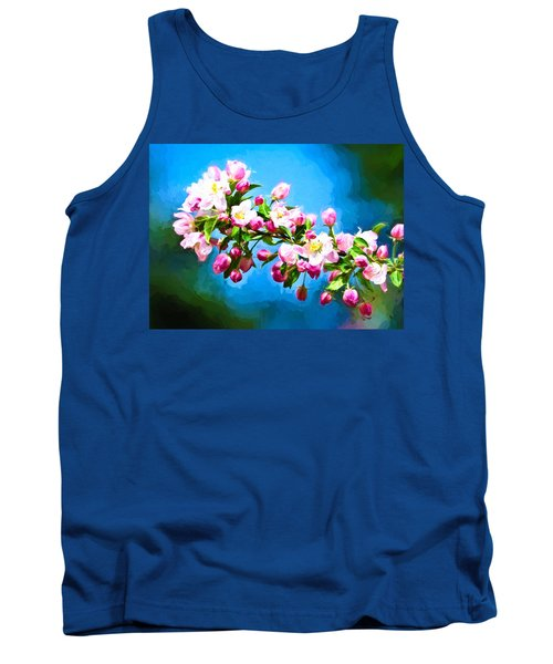 Spring Impressions Tank Top by Greg Norrell