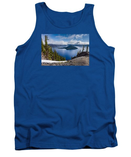 Spring Morning At Discovery Point Tank Top by Greg Nyquist