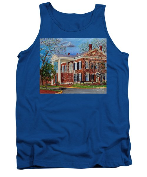 Spring Planting At The Dahlonega Gold Museum Tank Top