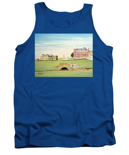 St Andrews Golf Course Scotland Classic View Tank Top