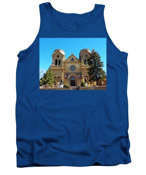 St. Francis Cathedral Santa Fe Nm Tank Top