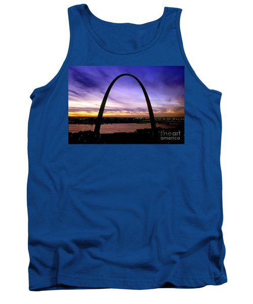 St. Louis, Missouri Tank Top by Wernher Krutein