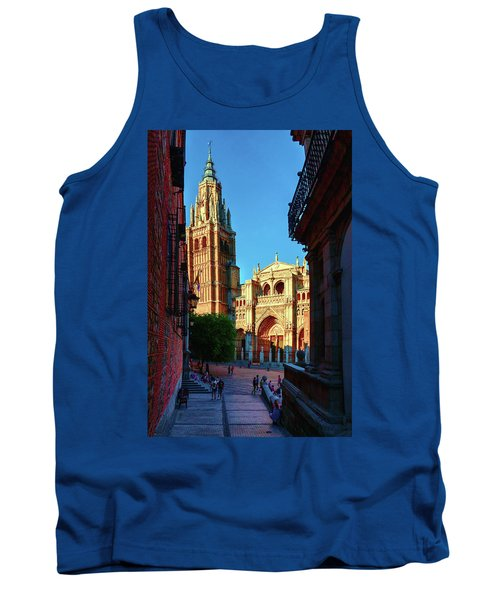 St Mary's Cathedral - Catholic Cathedral In Toledo, Chair Of The Primate Of Spain, The Main Cathedra Tank Top