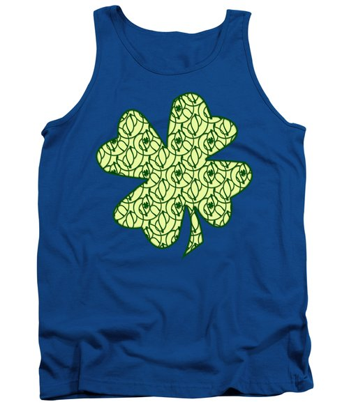 St. Patrick's Day Clovers Tank Top