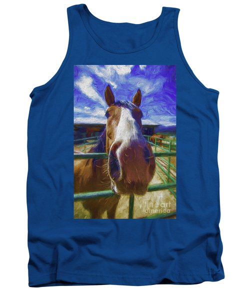 Stable Blues  Tank Top