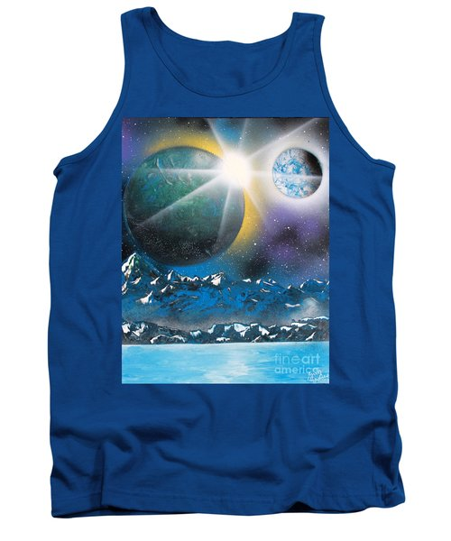 Star Burst Tank Top by Greg Moores