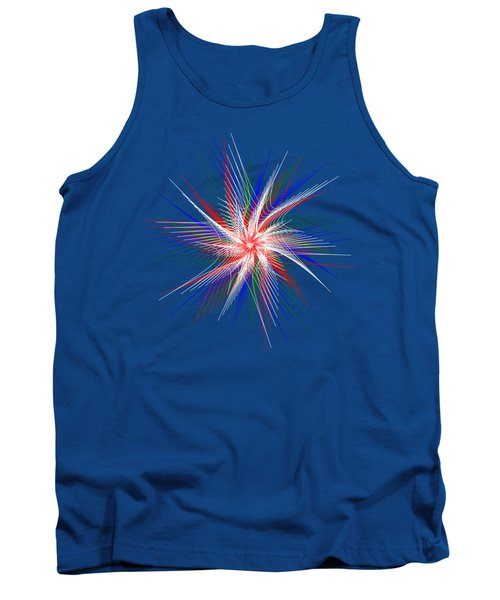 Star In Motion By Kaye Menner Tank Top by Kaye Menner
