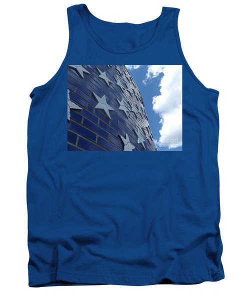 Stars And Stripes Tank Top by Erick Schmidt