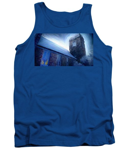Stone Church Watch Tower Tank Top
