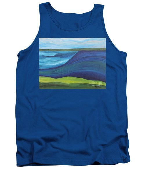 Stormy Lake Tank Top
