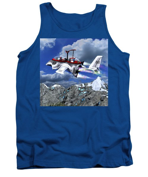 Stowing The Lift Tank Top by Dave Luebbert