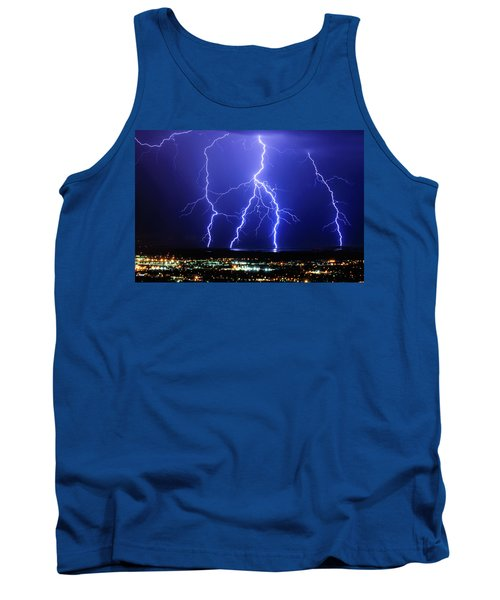 Strike Four Tank Top