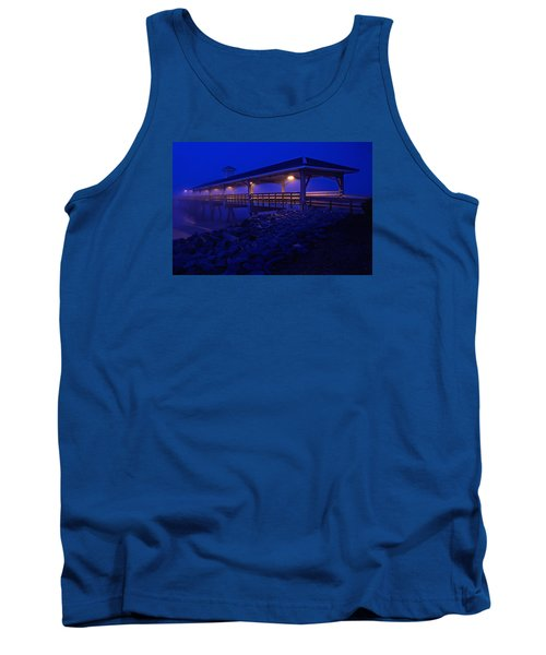 Once In A Blue Mood Tank Top by Laura Ragland
