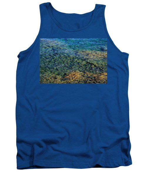 Submerged Rocks At Lake Superior Tank Top