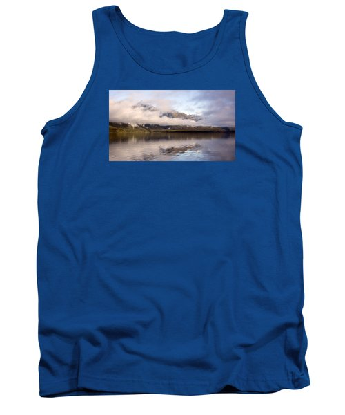 Tank Top featuring the photograph Sullivan Island Sunset by Michele Cornelius