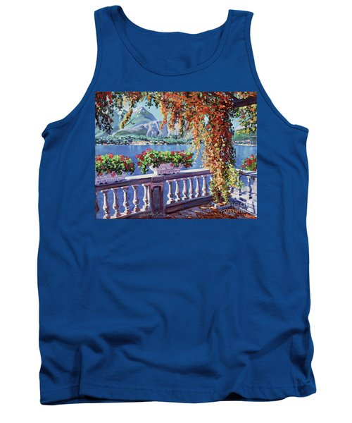 Summer At Lake Como Tank Top