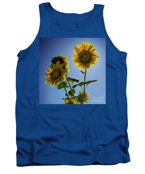 Sun Flowers Tank Top by Brian Jones