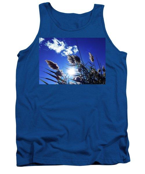 Sunburst Reeds Tank Top