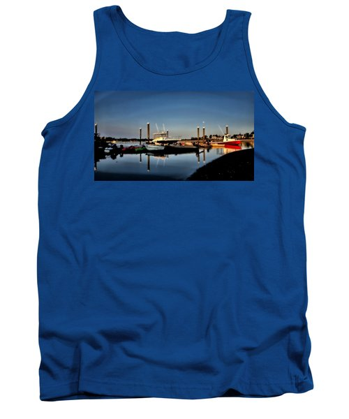 Sunny Morning At Onset Pier Tank Top