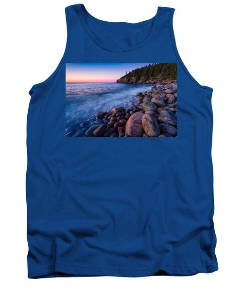 Sunrise At Boulder Beach Acadia Np Tank Top