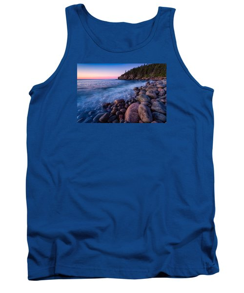 Sunrise At Boulder Beach Acadia Np Tank Top