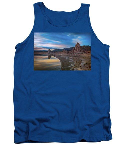 Sunrise At Mono Lake Tank Top by Ralph Vazquez