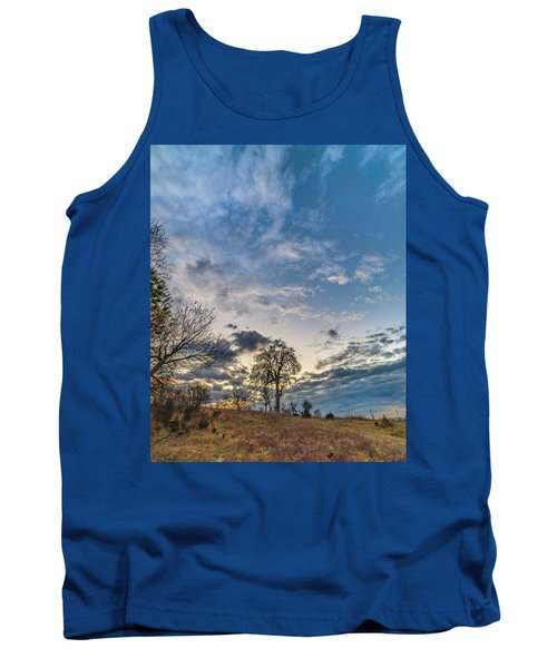 Sunrise On The Back Hill Tank Top