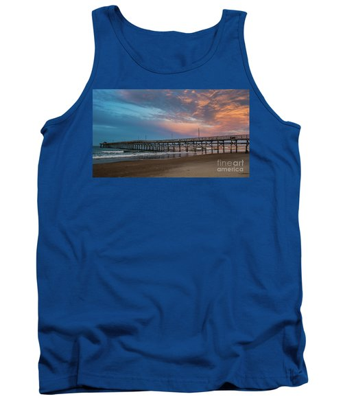 Sunset Over The Atlantic Tank Top by Scott and Dixie Wiley