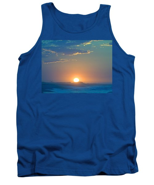 Tank Top featuring the photograph Sunrise Sky by  Newwwman